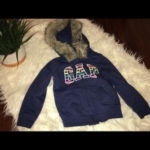 4T Gap zip up hoodie